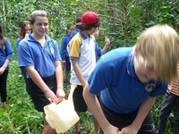 Mullumbimby High Year 7 Get down and get Dirty © pauline macleod