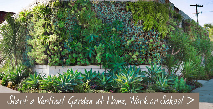 Easy vertical gardens for your home and office