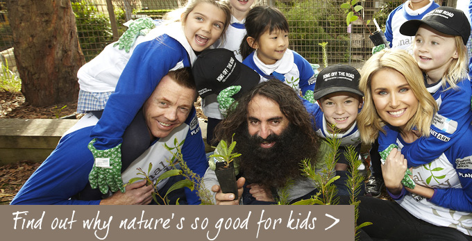 Find out why nature is good for kids