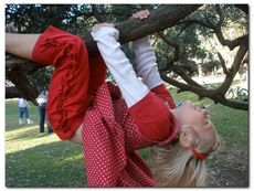 Girl in Tree © Lucy Band
