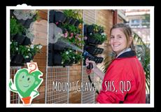 Enviroweek 2014 Girl watering plants © Claire Grant