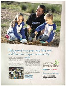 Promote National Tree Day
