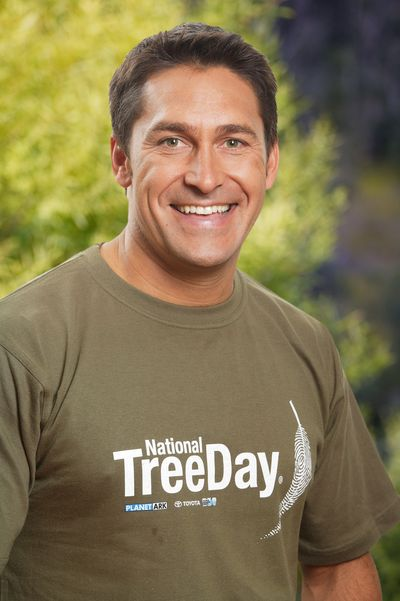 National Tree Day Supporter Jamie Durie © Planet Ark