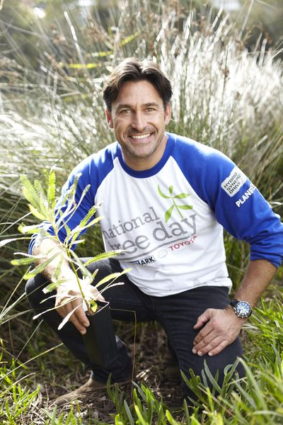 National Tree Day Ambassador Jamie Durie © Planet Ark