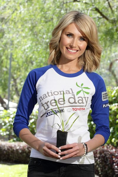 National Tree Day Ambassador Magdalena Roze