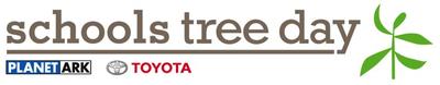 Schools Tree Day long banner logo © Planet Ark
