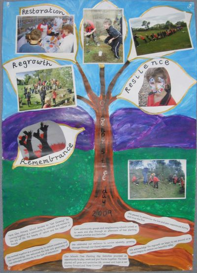 Yarra Glen State School, Vic - Cartridges 4 Planet Ark Get Growing Schools Competition Winner © Planet Ark