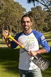National Tree Day Ambassador Adam Goodes © Planet Ark